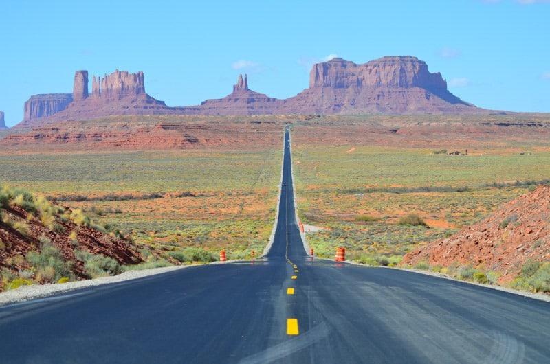 Monument Valley, poznáváte místo, kde se Forest Gump zastavil?