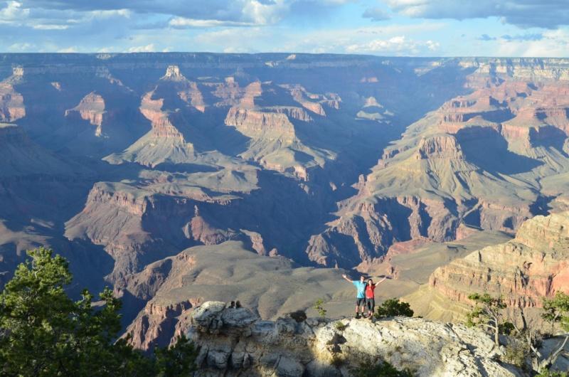 Grand Canyon South Rim, Road Trip - Národní parky USA, západ