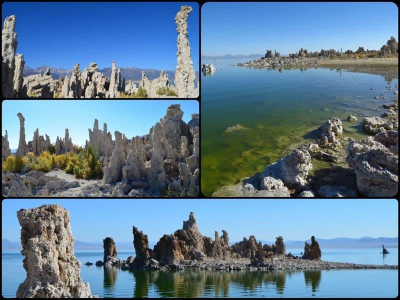 Slané jezero Mono Lake