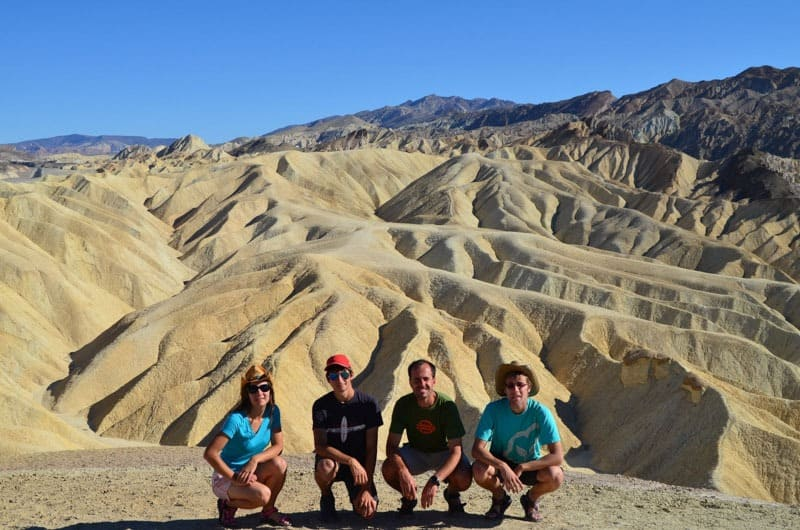 Krásné vyhlídky na Death Valley