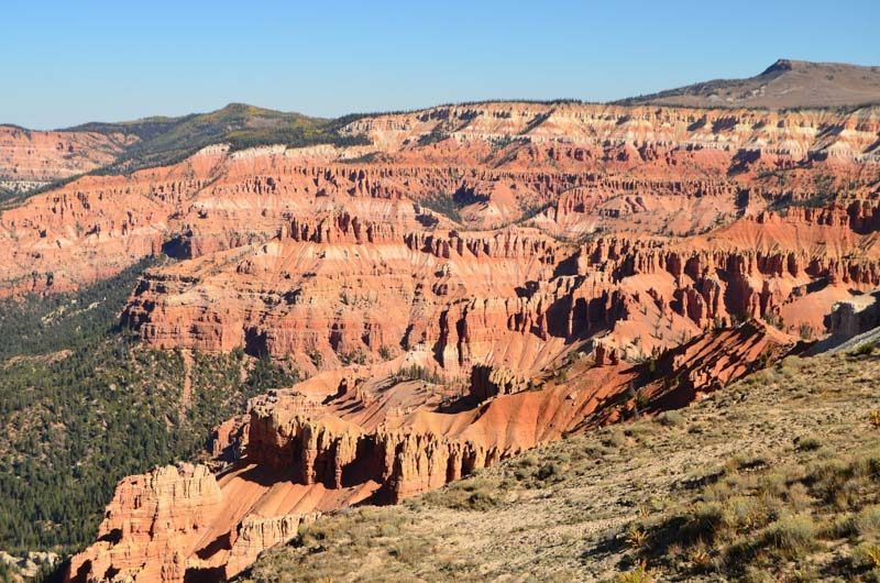 Cedar Breaks, Road Trip to the top National Parks in the US west coast.