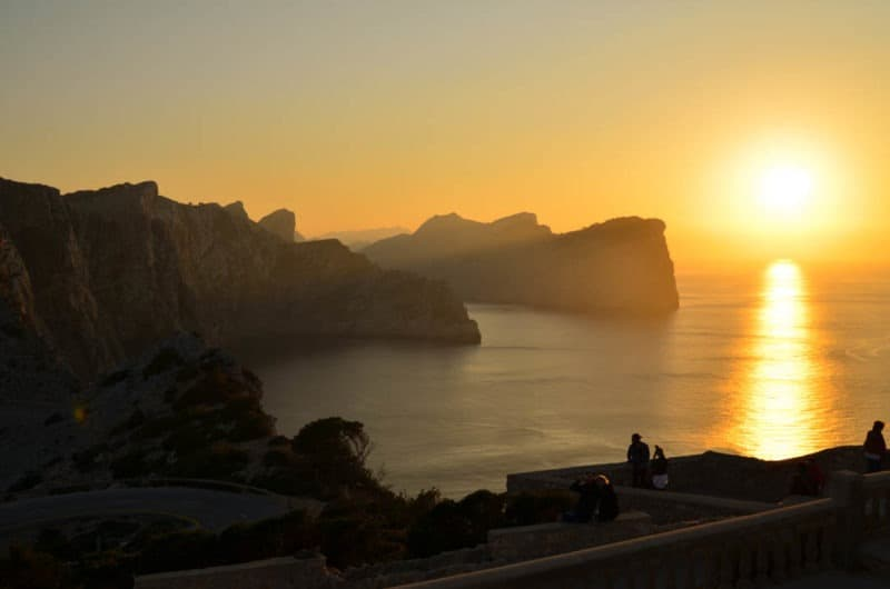 Sunset at Cap Formentor, Hiking in Mallorca