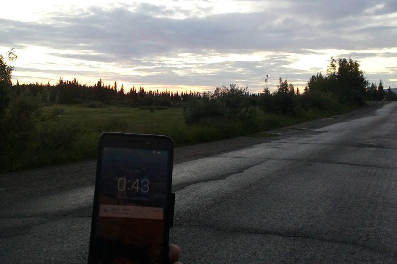 Půlnoční světlo, , Aljaška zajímavosti