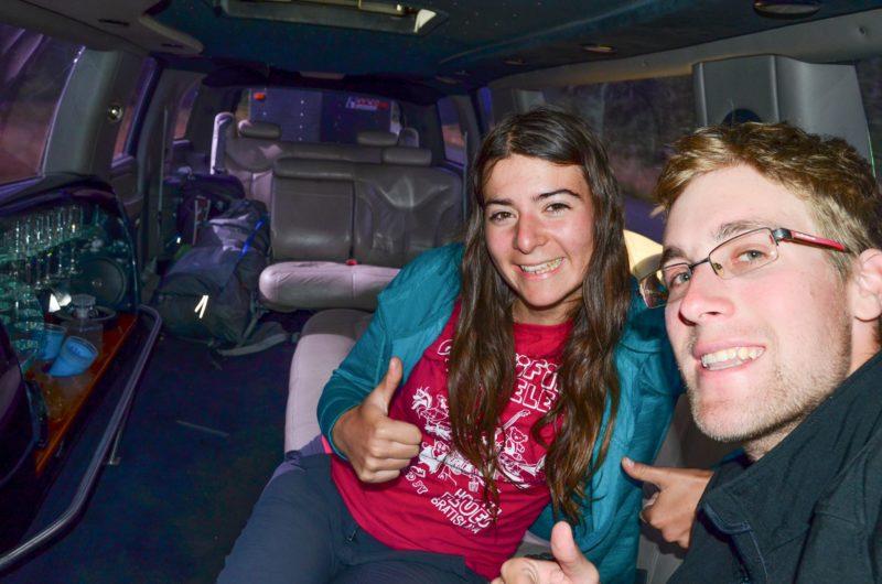 Když se poštěstí stopnout limuzínu, Aljaška zajímavosti