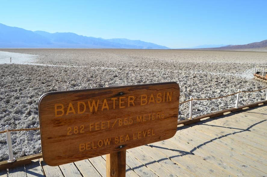 Badwater Basin - The lowest elevated place in North America