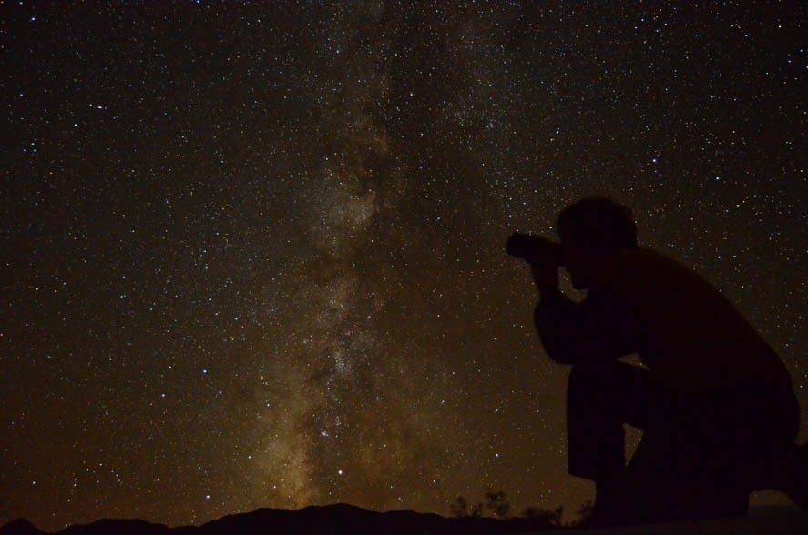 Amazing star-gazing in Death Valley