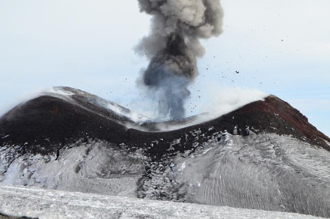 Výbuch Etny
