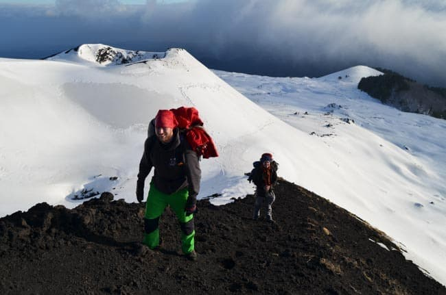Výšlap na Etnu