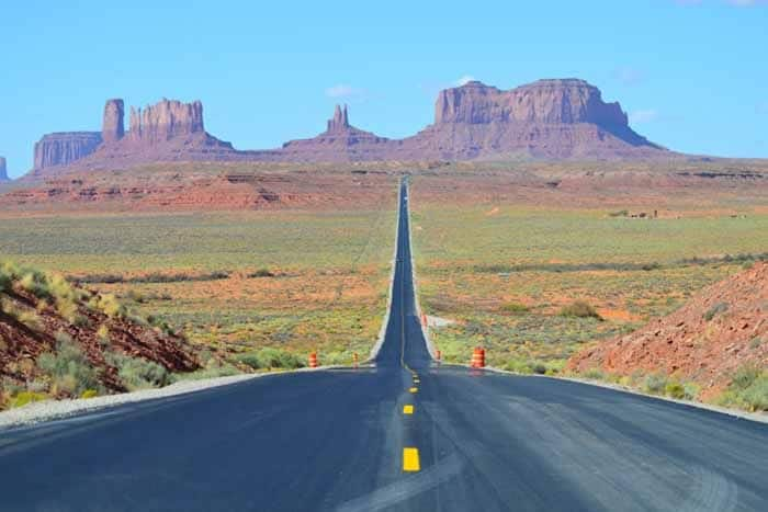 Monument Valley, Road Trip to the top National Parks in the US west coast.
