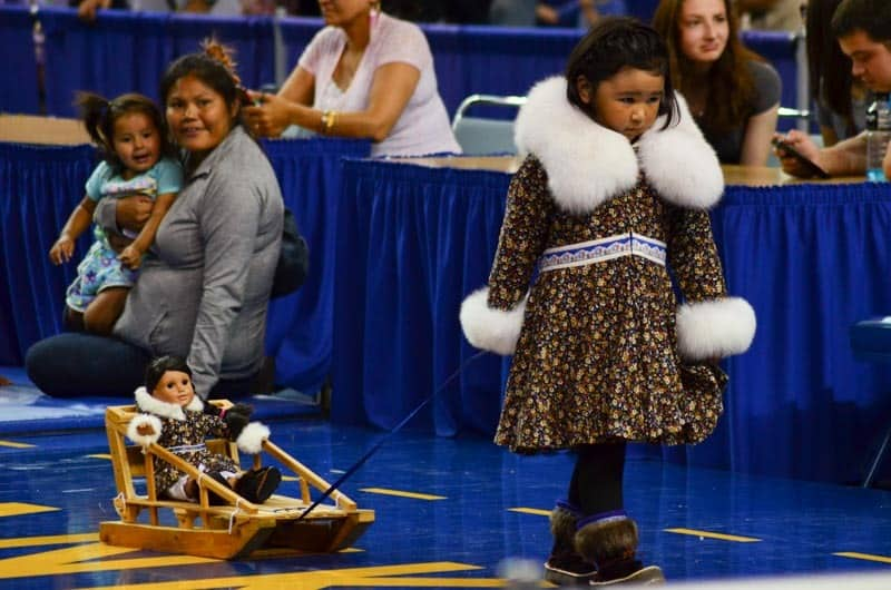 World Eskimo Olympics held in Fairbanks, Alaska is absolutely stunning! Seal skinning, miss Eskimo, high kick, ear pulling and other crazy disciplines!