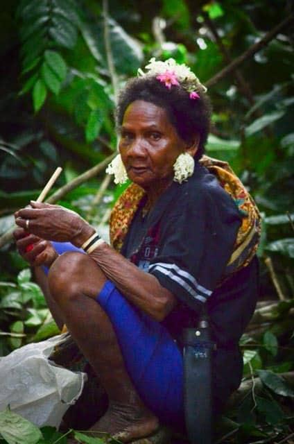 Jedna z kmenových stařešin