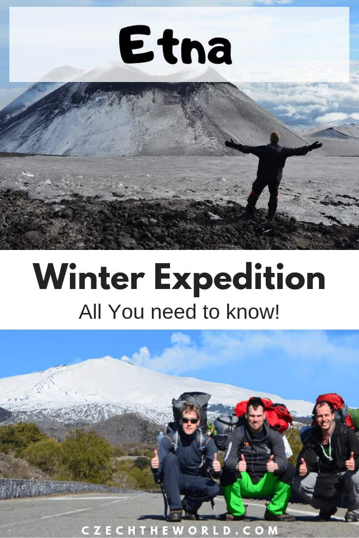Mount Etna winter expedition - ultimate guide, everything you need to know!