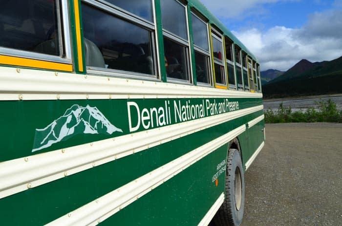 Shuttle bus, Denali