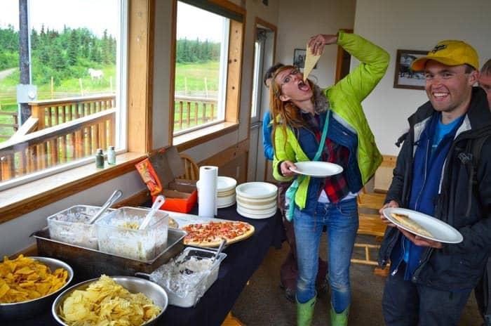 Ať už si dáte cokoliv, rozhodně si jídlo na Aljašce užijete