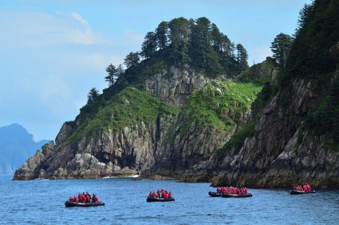 Whale watching at Kenai Fjords National Park