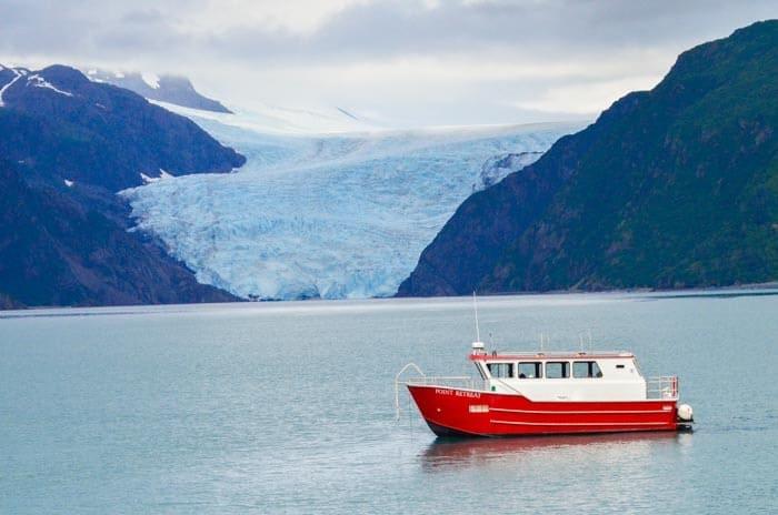 Lodní výlet kolem Kenai Fjords NP