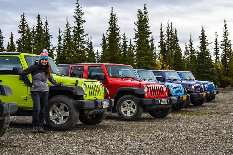 Denali Highway Jeep Tour