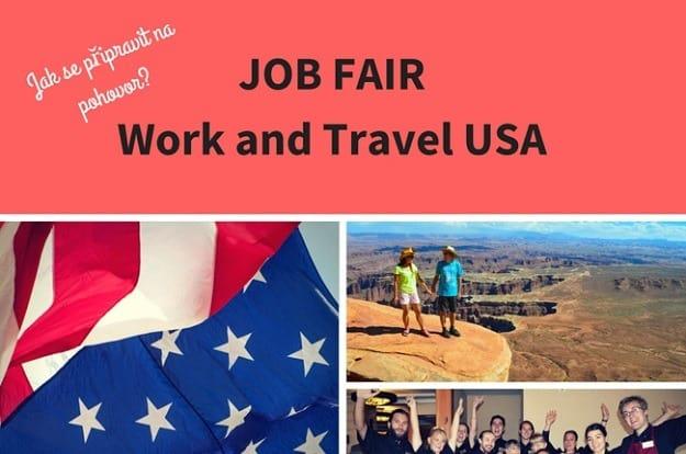Job Fair – Work and Travel USA: Jak se připravit na pohovor? Jak to probíhá a jaké otázky očekávat?