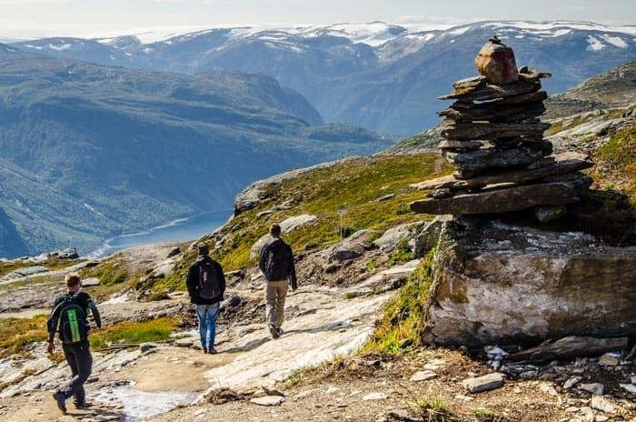 Norsko poskytuje nádherné pěší túry