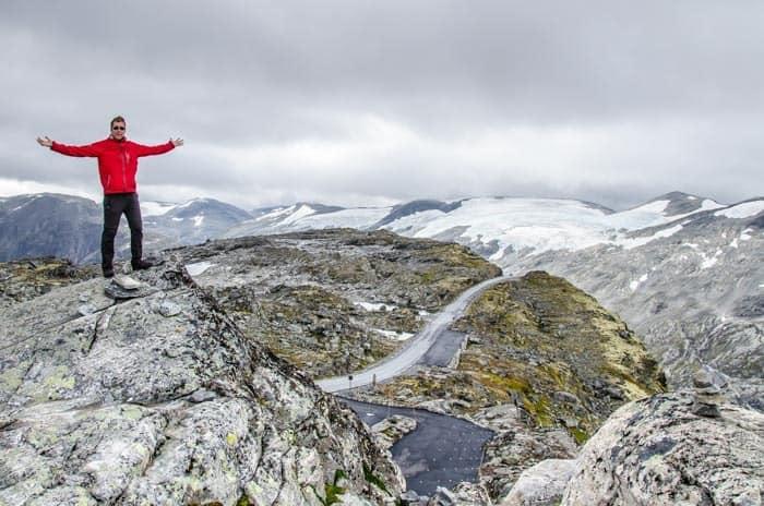 Vysoko položená vyhlídka Dalsnibba, Jižní Norsko