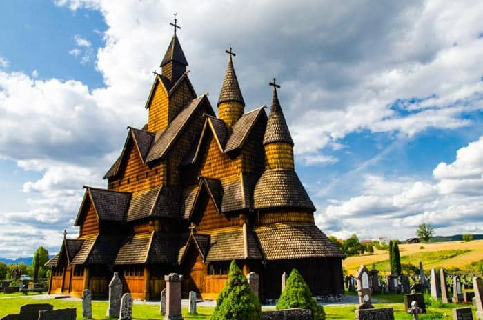 Heddal stave church, Jižní Norsko