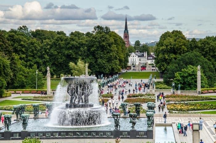 Oslo - Vigeland Sculpture Park