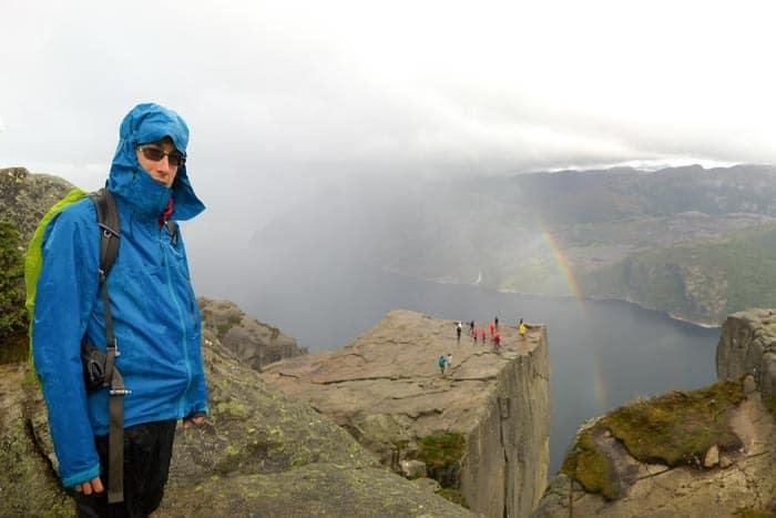 V Norsku často prší, nepodceňte oblečení!