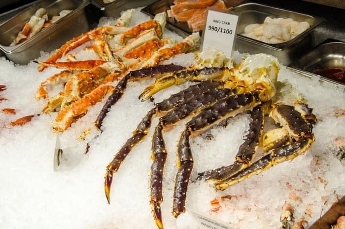 Fresh seafood, Norway