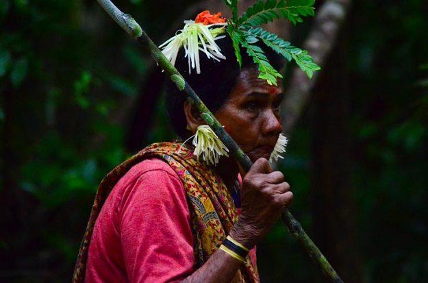 Domorodkyně z kmene Batek