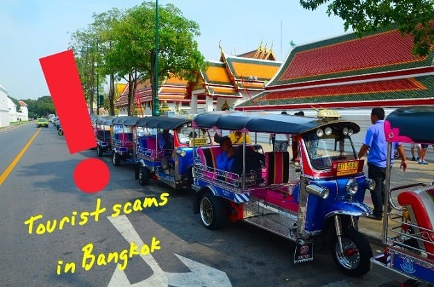 Bangkok tourist scams
