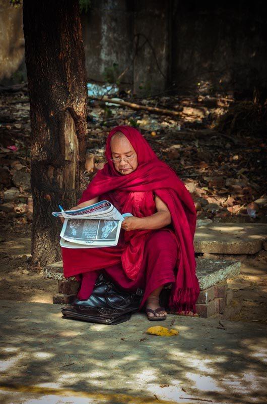 Mniši jsou tišší...