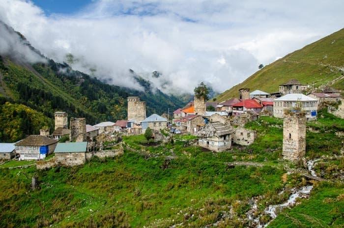Adishi - malá vesnička daleko od civilizace