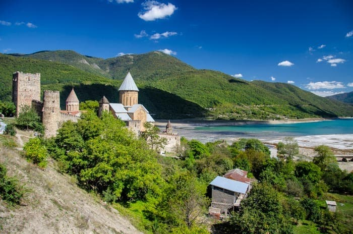 Ananuri - a nice monastery by the dam, The best things to do in Georgia