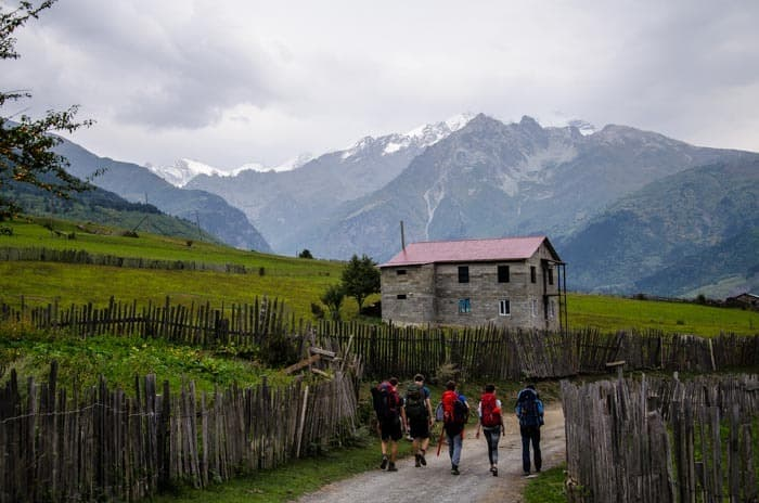 Trek from Mestia to Ushguli, The best things to do in Georgia country