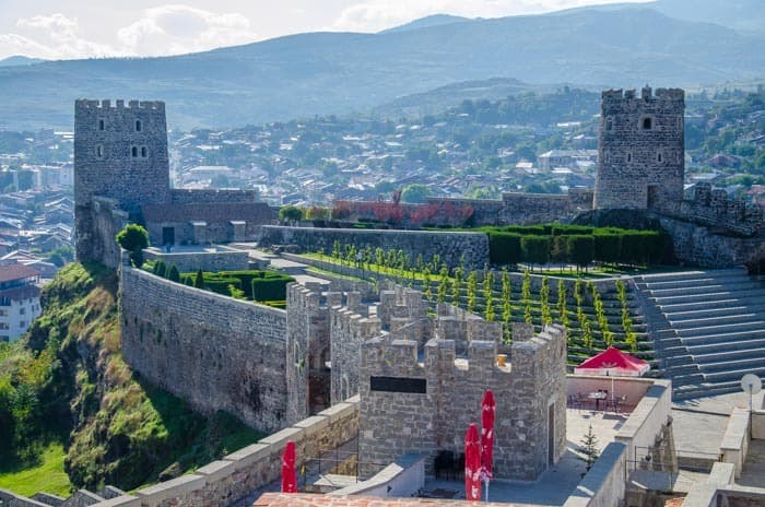 Modernized Rabati Fortress in Akhaltsikhe, The best things to do in Georgia