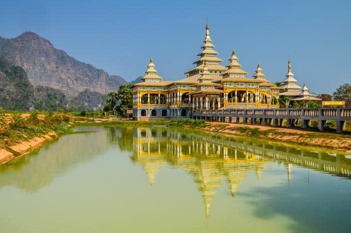 Hpa An - Barma (Myanmar) průvodce - místa, která stojí za to navštívit