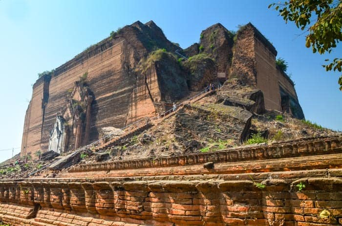 Mingun Pahtodawgyi - Barma (Myanmar) průvodce - místa, která stojí za to navštívit