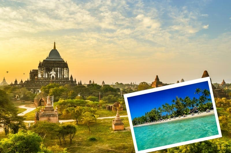 Your complete travel guide for the best places to visit in Myanmar (Burma) + offline map. Yangon, Mandalay, Bagan, Inle Lake, Ngapali, beaches, backpacking
