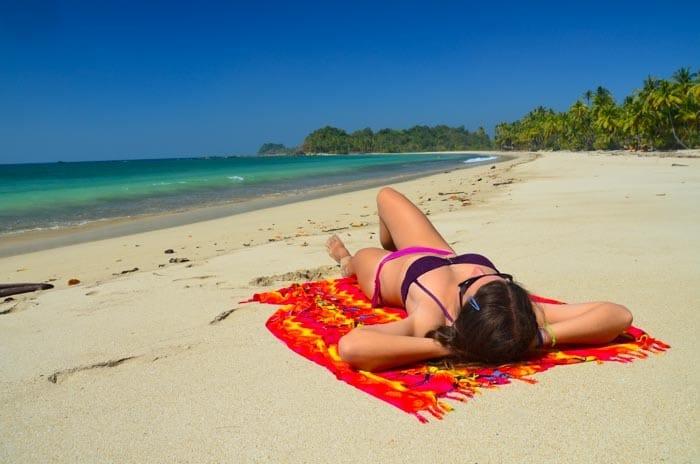 Ideální místo pro relax; Gwa a pobřeží