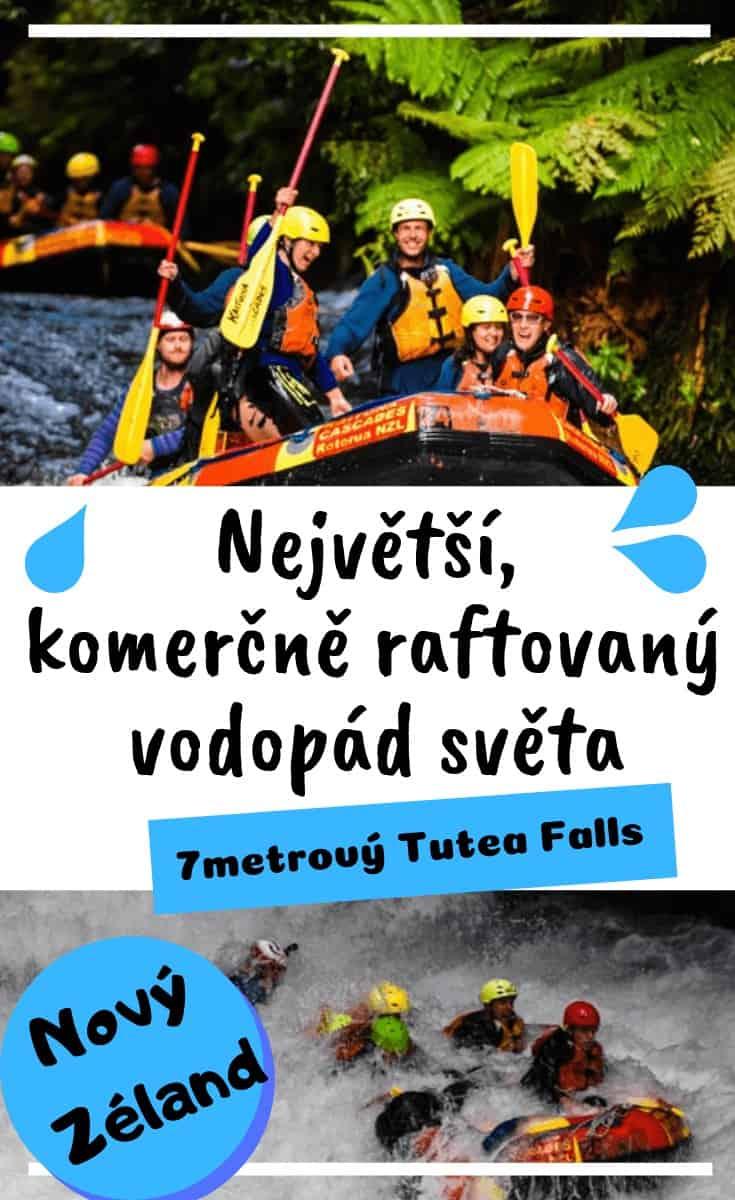 Rafting na Novém Zélandu a největší komerčně raftovaný vodopád světa!