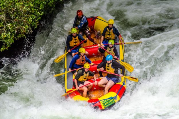 Epic rafting in Rotorua on Kaituna Cascades – New Zealand