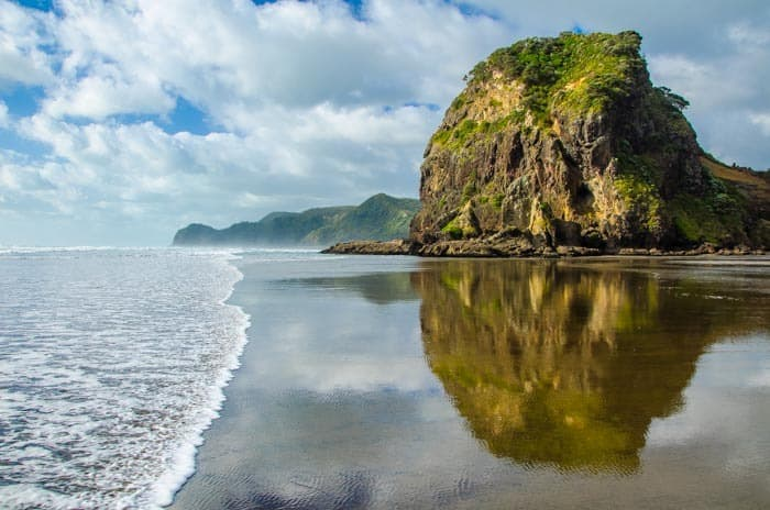 New Zealand Working Holiday Visa - Autofill Guide - Piha Beach