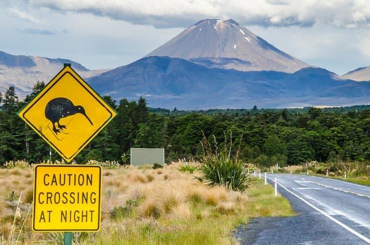 Nový Zéland - hora osudu