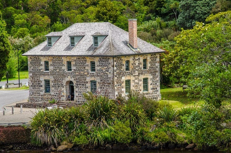 Stone Store from Rewa's village, Kerikeri, New Zealand