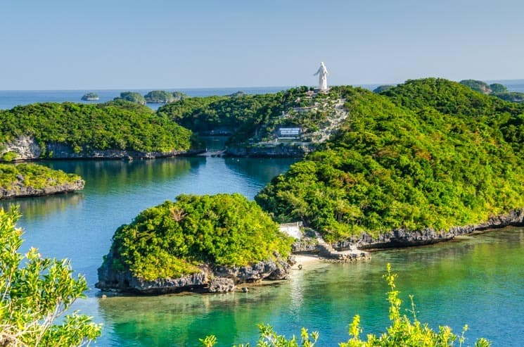 Hundred Islands National Park. Luzon in the Philippines