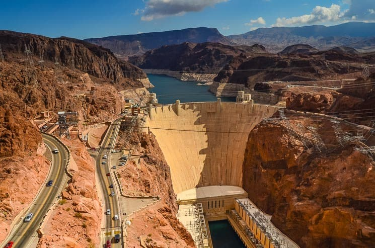Hoover Dam is phenomenal technological masterpiece - Westcoast roadtrip USA