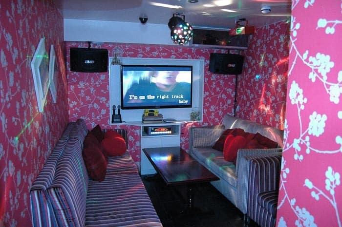 Jedna ze zajímavostí - Karaoke Bar