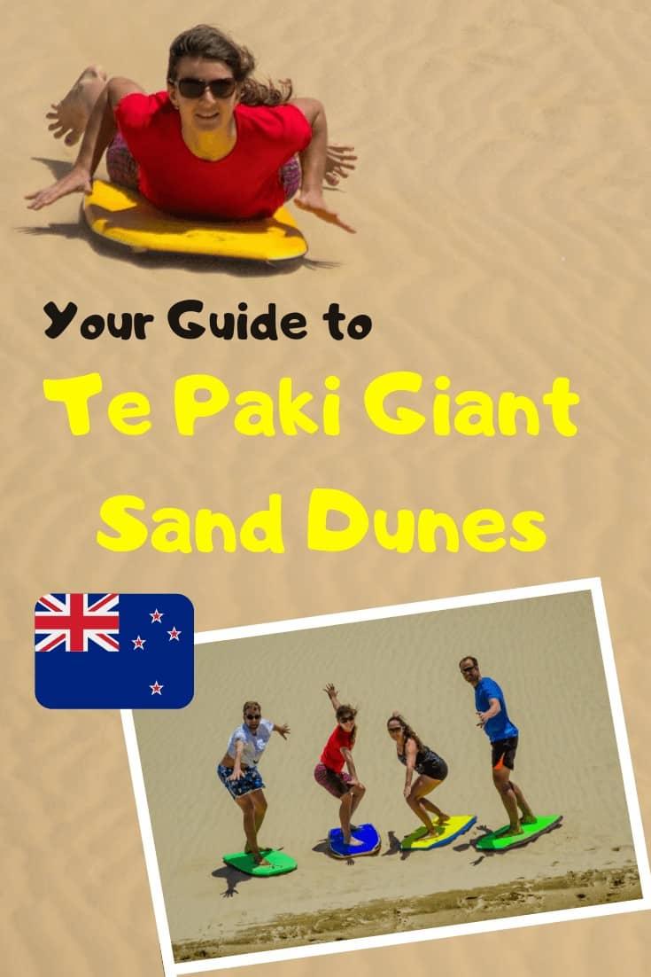 Te Paki Giant Sand Dunes - The Best New Zealand's Sandboarding