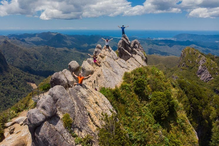 Vzdušný pohled na The Pinnacles