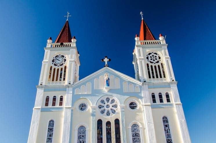 Cathedral of Our Lady of Atonement in Baguio. Luzon, the Philippines